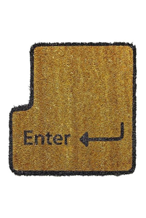 Enter Key Doormat by Enter Key Doormat For The Home Home Decor Home