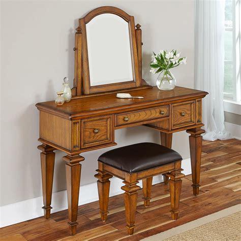 home styles americana vanity  mirror oak bedroom