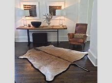 Eland Hide Rug felted backing Rugs and Hide rugs