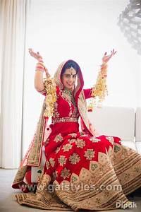 Contrast Bridal Lehenga Designs Indian Latest Bridal Lehenga Designs Trends 2018 2019