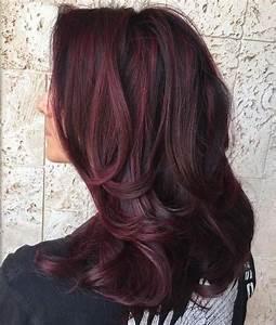 Ombré Hair Rouge : ombr hair miel blond rouge brun blanc gris violine ~ Melissatoandfro.com Idées de Décoration