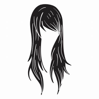 Mujer Pelo Woman Cabelo Icono Straight Transparent