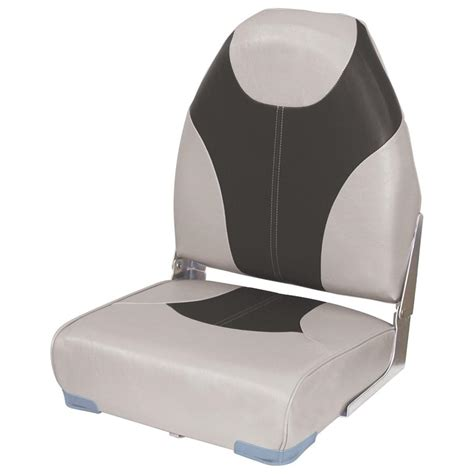 High Back Fishing Boat Seats by Wise 174 High Back Fishing Boat Seat 203996 Fold