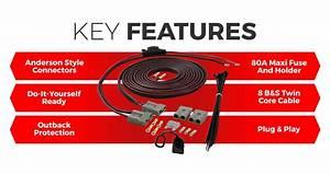 Kickass 12v Wiring Kit For Dual Battery