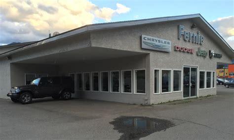 Chrysler Dealership Locations by Fernie Chrysler Into New Location Kootenay Business