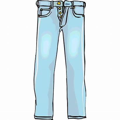 Pants Jeans Clipart Cliparts Clip Pant Boys