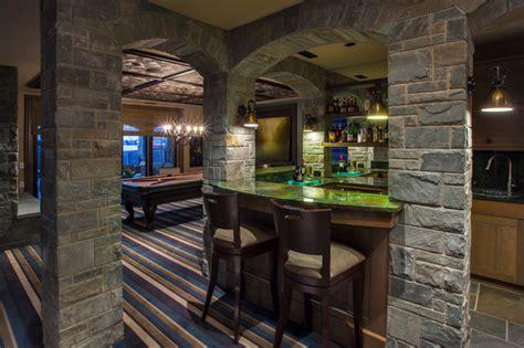 custom lake house traditional basement calgary douglas homes