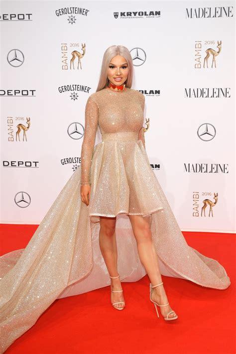 shirin david bikini bambi 2016 die stilkritik brigitte de