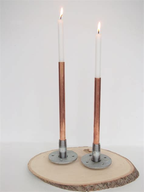 industrial candle holder a daily something diy industrial candleholder