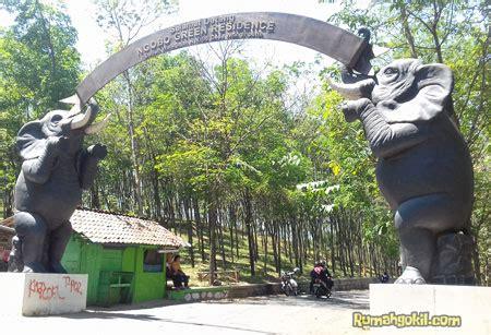 liburan seru  watu gajah park tempat wisata terbaru