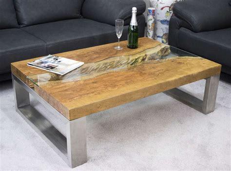 Tisch Holz Glas by Couchtisch Aus Massivholz Litschi Der Tischonkel