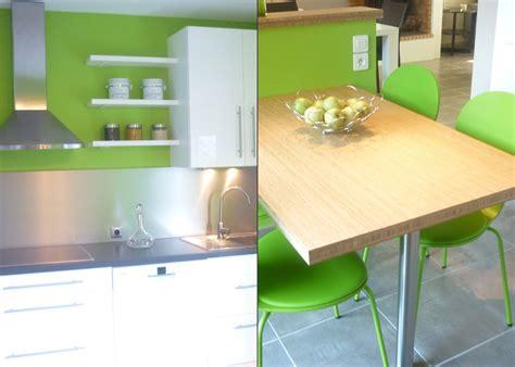 peinture cuisine vert anis la metamorphose d 39 une maison un amour de maison