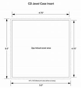 jewel case insert cd template for cd duplication and cd With slim jewel case insert template
