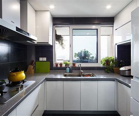 u shaped kitchen cabinets minimalist white u shaped kitchen cabinets 6471