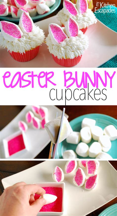 Ideas For Easter Cupcakes by Easter Bunny Cupcakes Tgif This Is