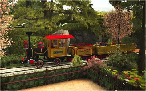 custom scenery depot theme park games disney nw railroad