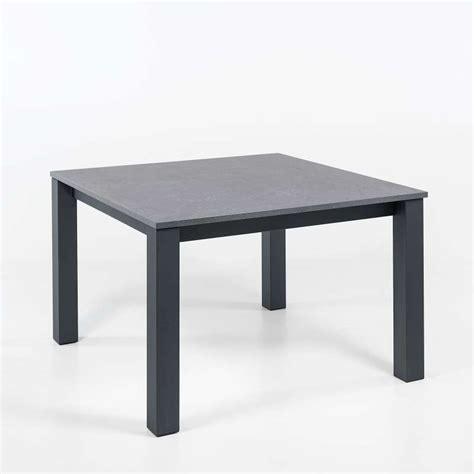 cuisine carree table de cuisine carrée extensible en stratifié vario