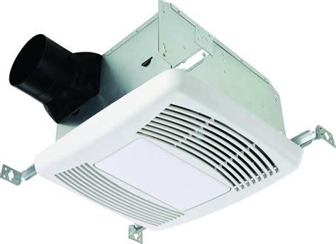 Quietest Bathroom Exhaust Fan by Continental Fan Lighted Ultra Bath Exhaust Fan Home