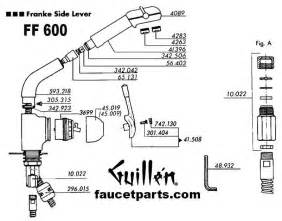 Gerber Bath Faucets by Franke Faucet Parts