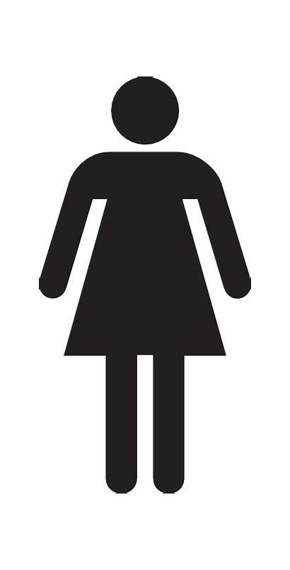 Symbol Figure Woman Female Clip Stick Clipart