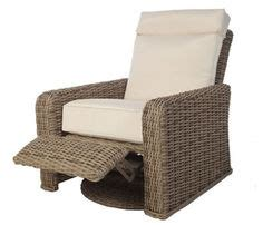san tropez woven cushioned swivel glider for the home
