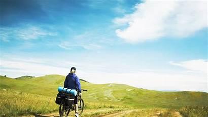 Travel Background Bicycle Mobile Slopes Mountains Desktop
