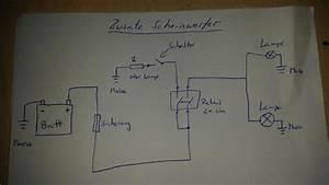 Schaltplan Zusatzscheinwerfer Motorrad