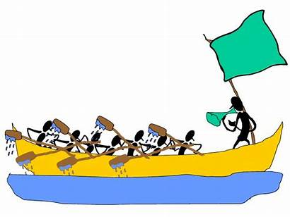 Rowing Race Clipart Management Team Humor Rowers