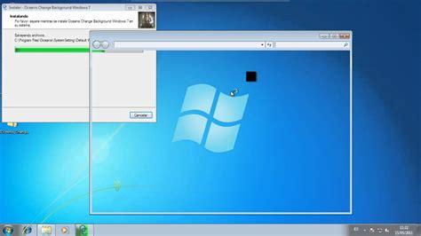 cambiar el fondo de escritorio windows  starter youtube