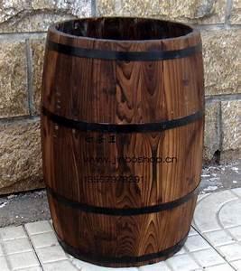 Tonneau En Bois : tonneau en bois pot bar armoire vin d coration barils de ~ Melissatoandfro.com Idées de Décoration