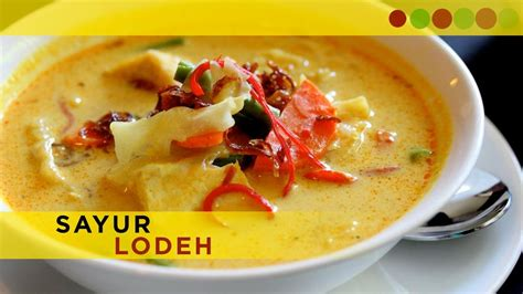 sayur lodeh indonesian recipe cooking  atul