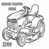 Coloring Lawn Mower Pages Deere John Tractors Printable Getdrawings Print Getcolorings sketch template
