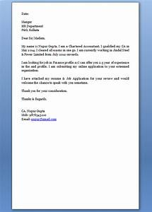 Resume Application Format What To Include In A Cover Letter