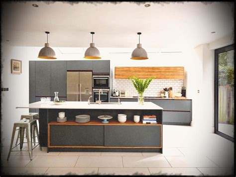 white kitchen light floors birch wood light grey door pictures of kitchens 1391