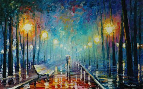 Leonid Afremov's Modern Impressionistic Paintings