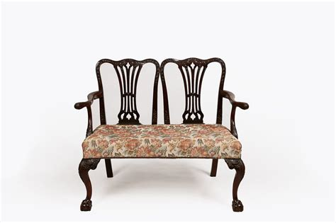 chairs and settees 9957 early 19th century mahogany chair back settee o