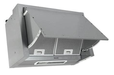 hotte escamotable brandt ae 306 pf1 gris metal ae306pf1 2005301 darty