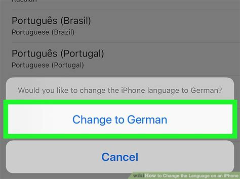 19883 how to change language on iphone 4 how to change the language on an iphone wikihow 19883