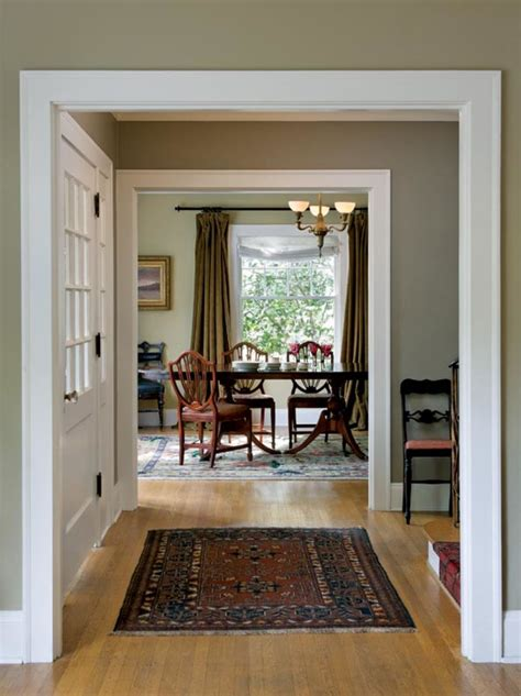 choosing paint colors   colonial revival home