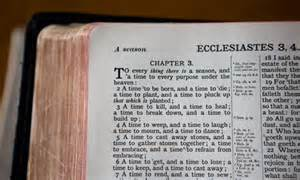 Ecclesiastes Vanity by The King James Bible