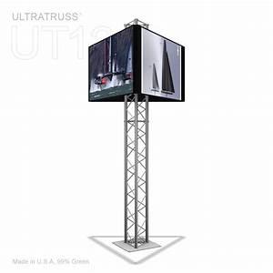 9 Ft UT12 Aluminum Triangle Truss Monitor Stand