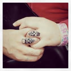 wedding rings tattoos 20 matching wedding ring tattoos