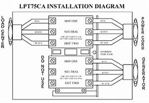 esco 75 amp transfer switch lpt75ca 75 amp transfer switch With circuit breaker wiring diagram also change over switch wiring diagram