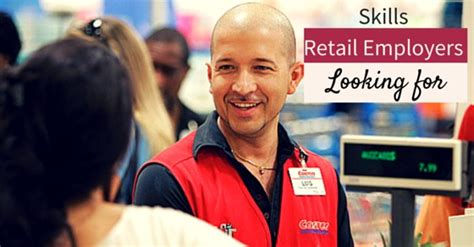 what key skills are retail employers looking for wisestep