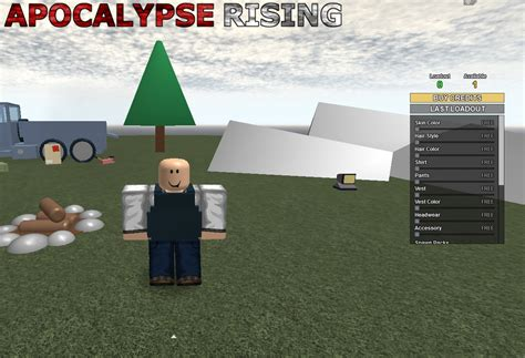 character creation roblox apocalypse rising wiki