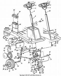 Mtd Mastercut Mdl 181 601 Parts Diagram For Parts