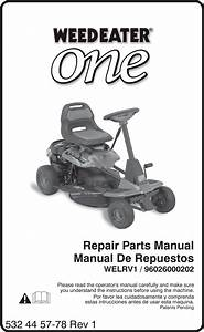 33 Weed Eater Lawn Mower Parts Diagram