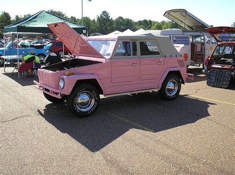 Pink 1973 Volkswagen