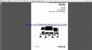 Volvo Trucks Fm9 Fm12 Fh12 Version2 Wiring Diagram Service Manual