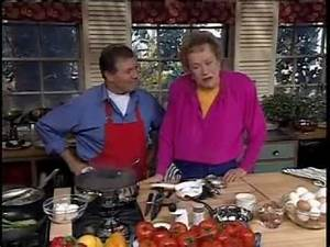 Julia Child and Jacque Pépin Poach Eggs | Food. Booze ...